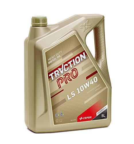 CEPSA 524043072 Eurotech LS 10W40 Plus Lubrifiant Synthèse pour Motorisations Diesel Lourd, 5 L