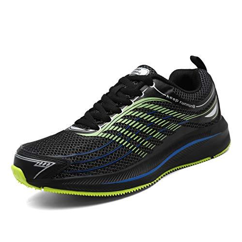 SOLLOMENSI Zapatillas para Hombre Deporte y Aire Libre Calzados para Correr Running Deportivo Deportivas Zapatos Zapatillas Casual Walking