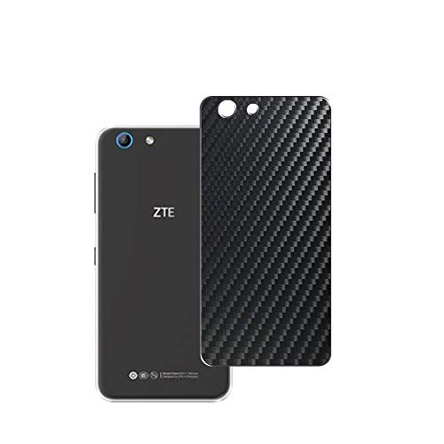 Vaxson 2 Unidades Protector de pantalla Posterior, compatible con ZTE Blade A506, Película Protectora Skin Piel Negro [No Carcasa Case ]
