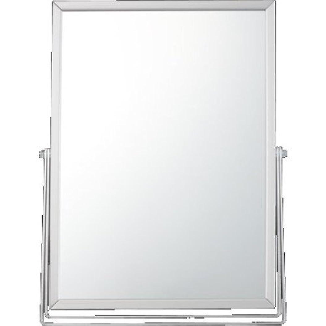 スクラップ隠ミンチ貝印 アルミスタンドミラー 角型L KX0753
