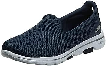 Skechers womens Go Walk 5 - 15901 Sneaker, Navy/White, 9.5 US