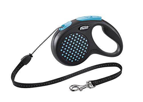 flexi Design M Seil 5 m blau für Hunde bis 20 kg