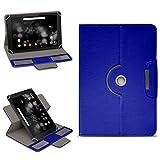 NAmobile Archos 101 Platinum 3G Tasche Hülle Schutzhülle Tablet 360° Drehbar Case Cover, Farben:Blau