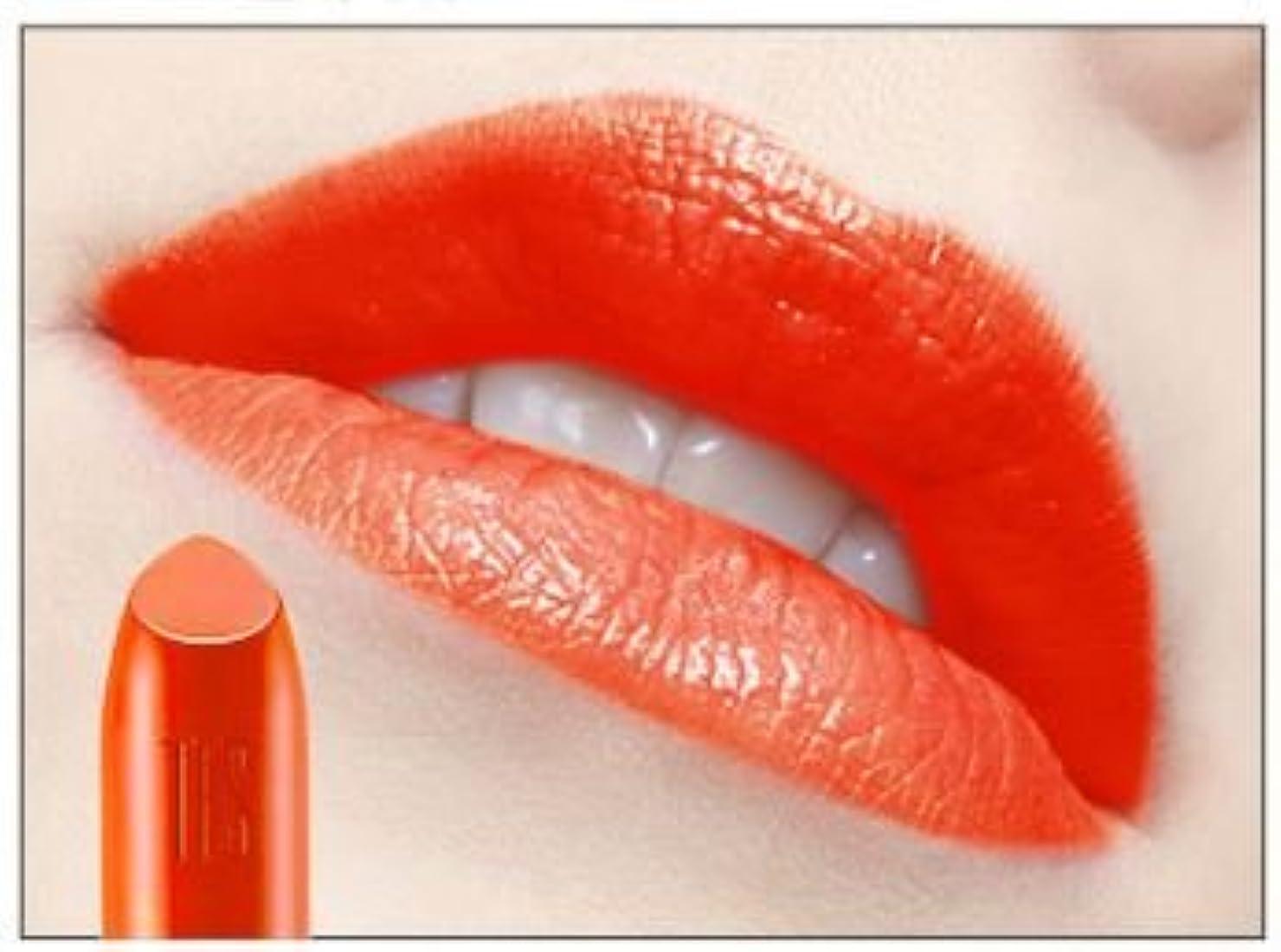 薄汚い聴く列挙する[New] THE FACE SHOP Moisture Touch Lipstick 3.4g/ザフェイスショップ モイスチャー タッチ リップスティック 3.4g (#OR01 Orange Shower)