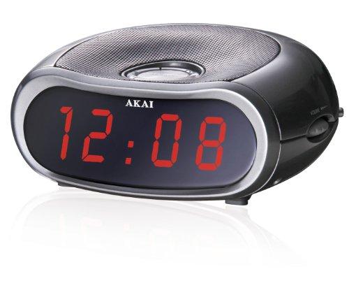 Akai AR105 Uhrenradio schwarz