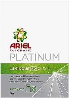 Ariel Automatic Platinum Laundry Powder Detergent Luminous HD Clean - 5 kg