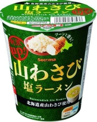 【セイコーマート】山わさび塩ラーメン×6個