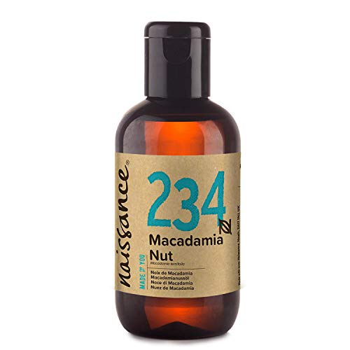 Naissance Olio di Macadamia - Olio Vegetale Puro al 100%, Vegano, senza OGM - 100ml
