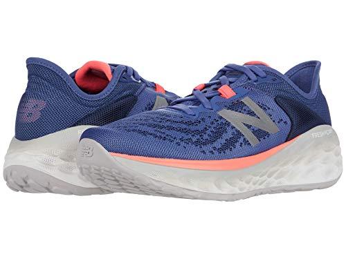 New Balance Women's Fresh Foam More V2 Running Shoe, Magnetic Blue/Guava, 7.5 W US