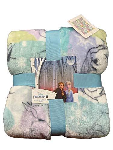 Grey Fleece Snug Rug Throw Blanket Anna /& Elsa FROZEN DISNEY