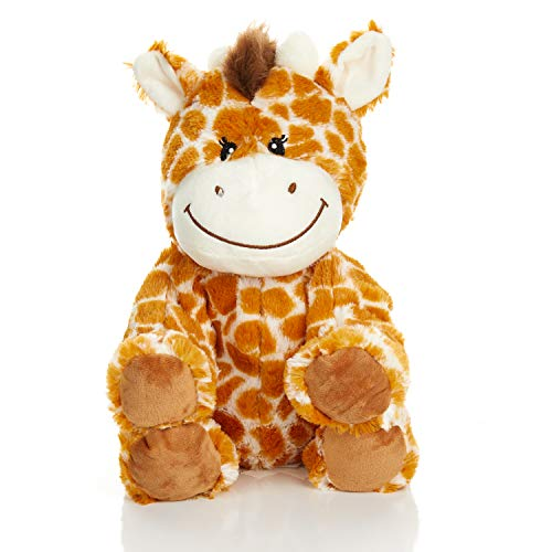 Warm Pals Microwavable Lavender Scented Plush Toy Stuffed Animal - Flirty Giraffe