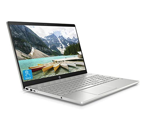 HP Pavilion 15-cw1004na 15.6 Inch Full HD Touch-screen Laptop, AMD Ryzen 3-3500U, 8 GB RAM, 256 GB SSD, Windows 10 Home - Silver