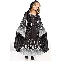 Bristol Novelty- Disfraz de Alma olvidada para niñas, Color Blanco, L (CC190)