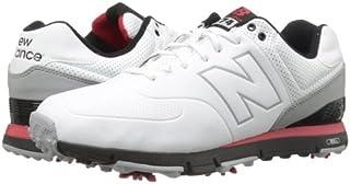 [ニューバランス] NBG574 WHITE/RED ゴルフシューズ [並行輸入品]