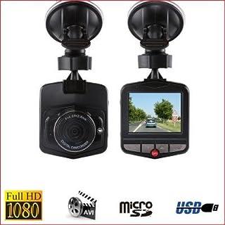 Dashcam Full HD 1080p–Cámara de coche submarinismo (–negro–sin tarjeta
