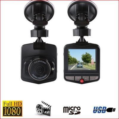 Dashcam Full HD 1080P–Kamera KFZ-Onboard–Schwarz–Ohne Speicherkarte