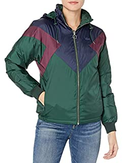 Lacoste Womens Colorblocked Reversible Padded Down Jacket W/ Hood Down Coat, Sinople/Navy Blue/Eggplant, 8 (B07JGTFCM8) | Amazon price tracker / tracking, Amazon price history charts, Amazon price watches, Amazon price drop alerts