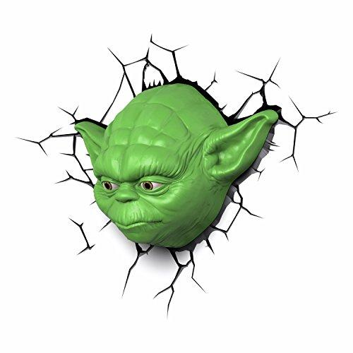 Yoda Kopf 3D LED Leuchte