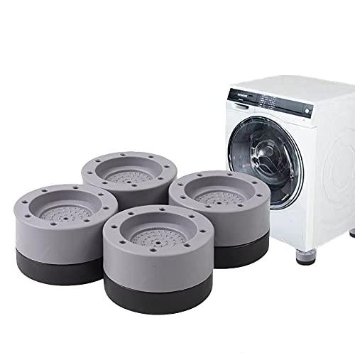 4 Piezas Almohadillas para Pies de Lavadora | Amortiguador de Vibraciones para Lavadoras/Almohadillas de Goma para Lavadoras - Amortiguador de Lavadora para Lavadoras Secadoras Refrigeradores Sofá