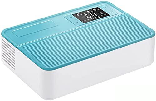 TYSJL Refrigerador de insulina portátil y refrigerador de insulina, 2-12  Nevera de temperatura constante de fármacos, para viajes a automóviles a domicilio, 10200mAh baterías, trabajo largo de 8 hor