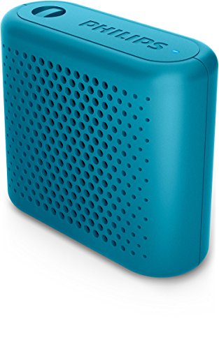 Philips BT55A tragbarer Bluetooth Lautsprecher (Akku, Anti-Übersteuerung, 2 Watt) blau