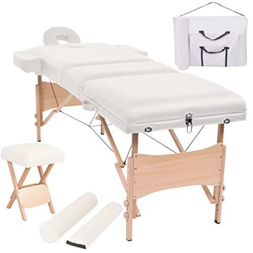 Camilla de masaje profesional plegable de madera, camilla de masaje plegable de...