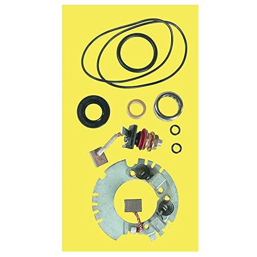 DB Electrical SMU9112 Starter Rebuild Kit Compatible with/Replacement for Yamaha ATV Big Bear 350 400 4WD 2WD YFM400 YFM350FW YFM400F, Kodiak 400 4WD YFM400FW, Wolverine 350 YFM350FX /