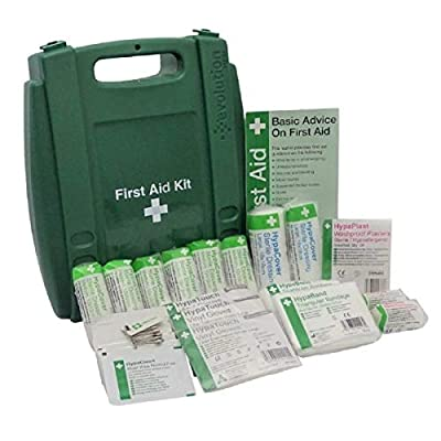 Safety First Aid HSE-Compliant 1-10 Persons First Aid Kit by Safety First Aid Group