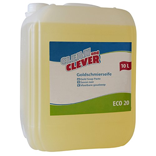 ECO20 Goldschmierseife 10l CLEAN and CLEVER