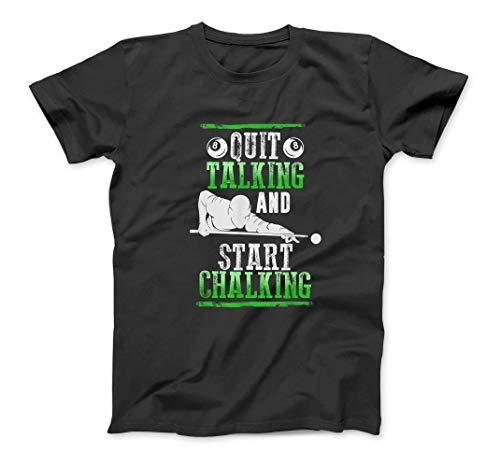 Pool Billard Shirt: Beenden Sie Reden und Start Kreidung Hemd SweatshirtHoodie Tank Top für Männer Frauen Kinder