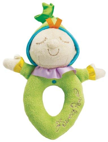 Manhattan Toy - 211920 - Jouet de Premier Age - Doux Hochet Sweet Pea