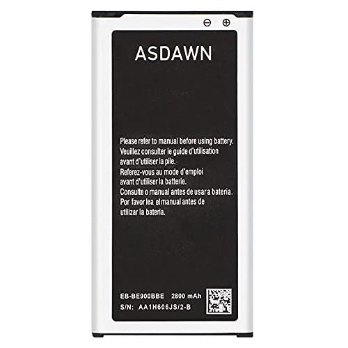 Galaxy S5 Battery 2800mAh EB-BG900BBC EB-BG900BBU EB-BG900BBE Battery for Samsung Galaxy S5 SM-G900 Series G900A P V T F H R4 TR W8 BVB, i9600, Galaxy S5 Active SM-G870 Battery Replacement