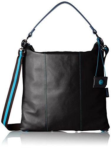 Gabs Damen Sofia Tg L - Monospalla Trasf. Escudo Business Tasche, Schwarz (Nero), 1x38x38 cm