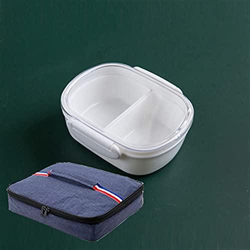DFGDFG Especificaciones múltiples Caja de Almuerzo Multiquos Microondas Alimento Contenedor Contenedor de Viaje Senderismo Oficina Escuela Camping Bento Box (Color : 350ml Lunch Bag)