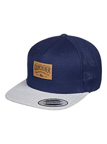 Quiksilver Herren Cap Billside - Snapback-Kappe Für Männer, Navy Blazer, 1SZ, AQYHA04566