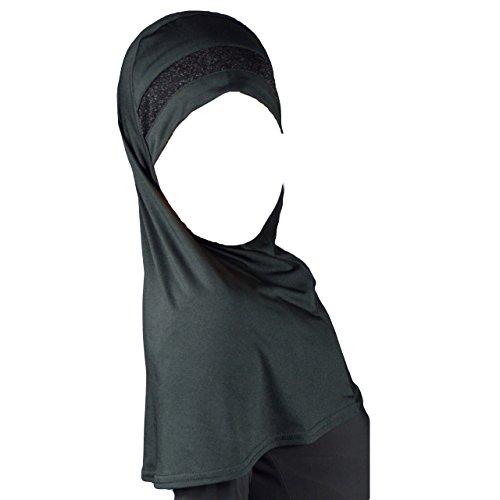 Kinder Kopftuch Hijab Amira mit Glitzerborde