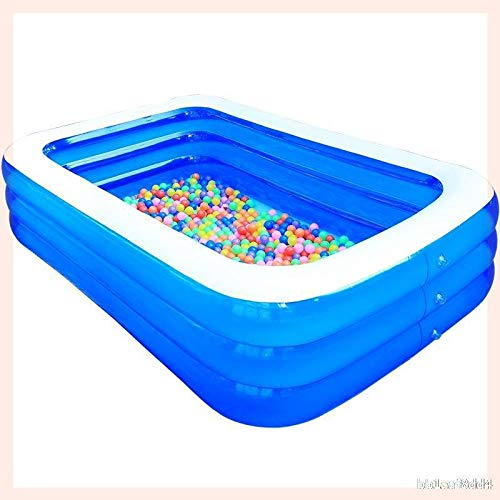 B/H Bañera Piscina de para Adultos,Piscina Hinchable para niños y Adultos,Piscina Hinchable súper Grande engrosamiento-3m-C