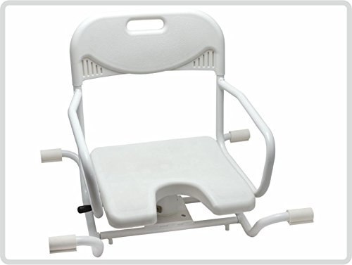 "Badewannensitz ""EXTRA"" drehbar Drehsitz Sitzhilfe Badehilfe Duschsitz Duschstuhl"