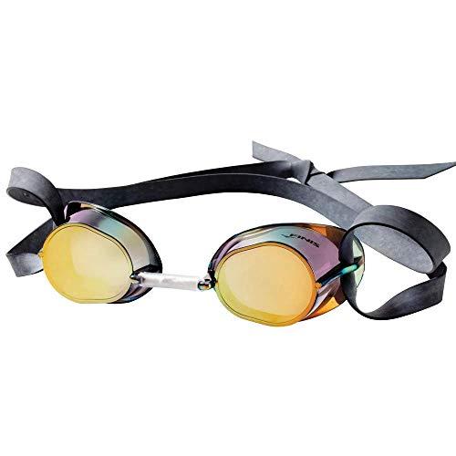 FINIS Schwimmenschutzbrille Dart, gold mirror, One Size