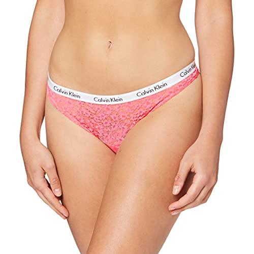 Calvin Klein Brazilian Ropa Interior, Smoothie Rosa, XL para Mujer