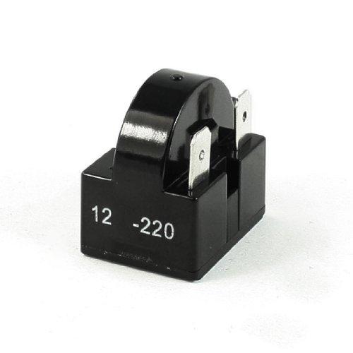 DealMux 3-Pin Frigorífico PTC Relé de Arranque reparación de Piezas de 12 Ohm Resistencia