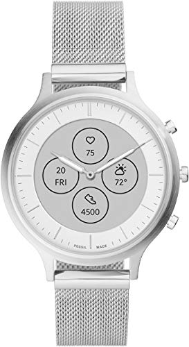Fossil Women's FTW7030 Charter Hybrid Smartwatch HR with Always-On Readout Display, Heart Rate, Activity Tracking, Smartphone Notifications, Message Previews