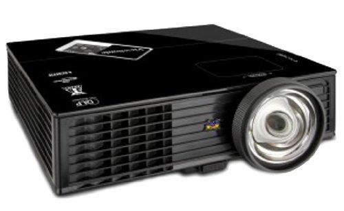 ViewSonic PJD6353S XGA 1024x768 DLP Projector, 2500 ANSI Lumens, 15,000:1 Contrast Ratio - Black