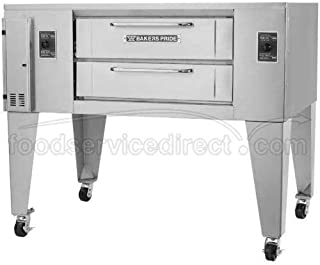 Bakers Pride SuperDeck DS Double Deck Gas Oven, 65 1/4 x 43 x 66 inch -- 1 each.