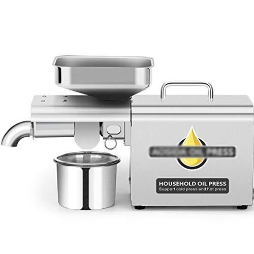 Startseite Automatische Kleine Ölpresse Ölpresse Öl Extractor, Haushalt Gewerbe Frittieren No Small Hot and Cold Ölpresse, 98{e92c1877a95580989b632a9343692511f328f3c5102a3a7ac33708cada812508} Ölausbeute/Clear Öl/Silent-High Power Motor/Quick Installation/En