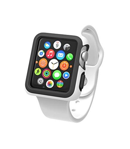 Speck CandyShell–Cover Protettiva per Orologio Apple Watch di 38mm–Rosso/Rosa