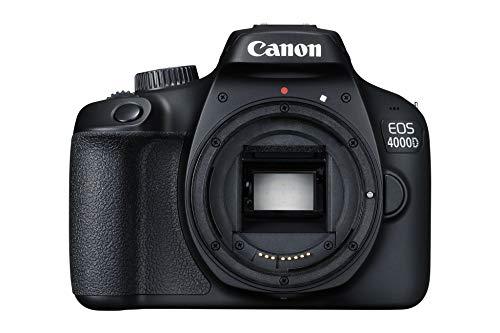 Canon EOS 4000D Reflex Numérique - Boîtier Nu - Noir