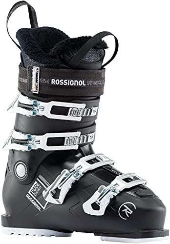 Rossignol Pure Comfort 60 Womens Ski Boots Black Sz 10.5 (27.5)