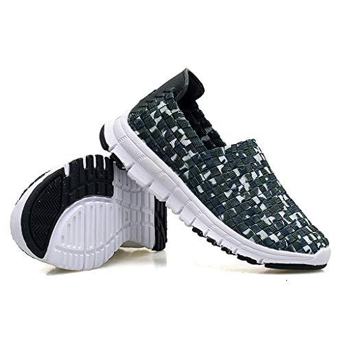Women's sneakers sport voor vrouwen lichte outdoorskates licht ademende strada van Che Corre A voeten Commerciali Fare jogging geschikt voor de vrije tijd (kleur: groen, maat: 23)
