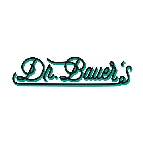 Dr. Bauer Dentifricio nero sbiancante alla menta nera 75ml con carbone attivo - con olio di cocco - senza fluoruro - con papaina - con idrossiapatite - 3er confezione vantaggiosa (3x 75ml)